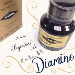 英國 Diamine 墨水 30ml藍黑色防水墨水