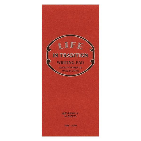 日本 LIFE  IN TRADITION 直式便箋 (附吸墨紙)