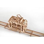 烏克蘭UGEARS 木製自我推進模型 - 輕軌電車 Tram With Rails
