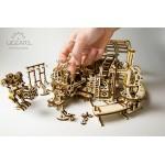烏克蘭UGEARS 木製自我推進模型 -  機械小鎮:機器人工廠 Robot Factory model