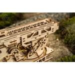 烏克蘭UGEARS 木製自我推進模型 - 消防雲梯車 Fire Ladder Truck