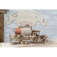 (特價中) 烏克蘭UGEARS 木製自我推進模型 - 油罐車 Tanker Truck (待貨中)
