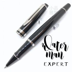 法國 Waterman Expert 權威系列 鋼珠筆(黑桿白夾款)