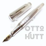 德國 OTTO HUTT 奧托赫特 尊爵型 | Design07 星河銀 18K金 鋼筆
