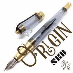 臺灣 SKB 文明鋼筆 原點系列鋼筆(燻黑黃銅)