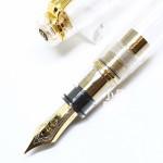 日本 Sailor 寫樂 Professional Gear 21K 透明金夾 鋼筆