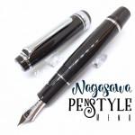 日本 NAGASAWA PenStyle Memo14K 風見雞 迷你鋼筆(黑色)