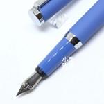 小品雅集 訂製款 霧面絲絨鋼筆(天空藍)