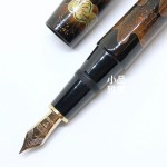 日本Platinum 白金 出雲系列 八雲塗 研ぎ八雲 18K金 鋼筆
