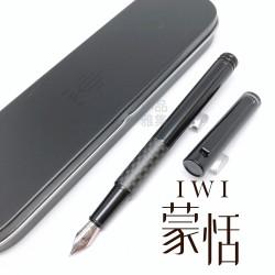 臺灣 IWI 蒙恬 Essential 基礎系列 鋼筆(碳纖維)