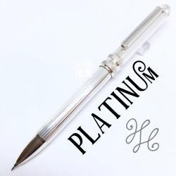 日本 Platinum 白金 純銀三用筆 (直紋款)