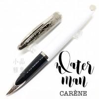 法國Waterman 頂級海洋系列 18k金 鋼筆(星鑽白桿)