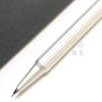 (特價中)TA+d 創夏設計 Fiber| 燻竹0.7mm自動鉛筆(鈦色)