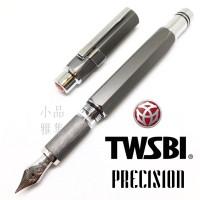 臺灣 TWSBI 三文堂 Precision 活塞鋼筆(鐵灰)