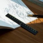 臺灣 Y studio:物外設計 文字的重量 露銅直尺