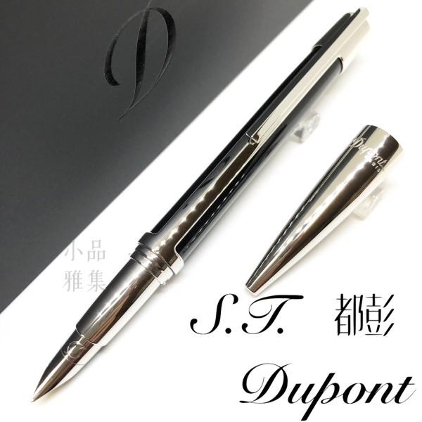 法國 S.T. Dupont 都彭 DEFI 挑戰系列 鋼筆(亮黑銀夾)