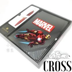 =特價中= CROSS 高仕 Tech2 Marvel系列 觸控原子筆+筆記本禮盒(Iron Man 鋼鐵人)