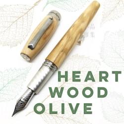 義大利 Montegrappa 萬特佳 HEARTWOOD - 原木系列 鋼筆(橄欖木)
