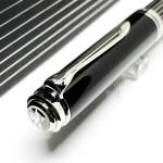 德國 Pelikan 百利金 18K金 M815 Metal Striped 金屬線條 鋼筆