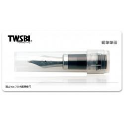 三文堂 TWSBI 鋼筆筆尖 透黑握位 (TWSBI VAC 700R 用)