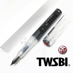 臺灣 TWSBI 三文堂 GO 彈力吸墨鋼筆(黑色)