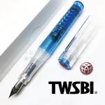 臺灣 TWSBI 三文堂 GO 彈力吸墨鋼筆(藍色)