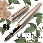 德國 OTTO HUTT 奧托赫特 時尚絨 | Design06 貝殼粉 鋼筆