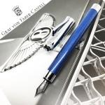 德國 Graf von Faber-Castell Bentley 賓利聯名系列 鋼筆(寶石藍)