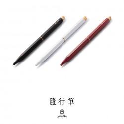 臺灣 Y studio:物外設計 文字的重量 露銅隨行筆(三色可選)