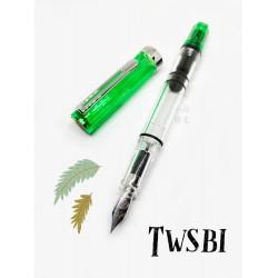 臺灣 TWSBI 三文堂 ECO 活塞鋼筆(果凍綠)