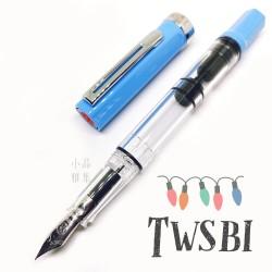 臺灣 TWSBI 三文堂 ECO 活塞鋼筆(Baby Blue 嬰兒藍)