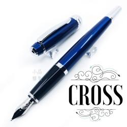 CROSS 高仕 Bailey 貝禮 藍亮漆 鋼筆