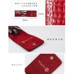 德國 Niegeloh 尼格魯 不鏽鋼修甲旅行3件組(紅色真皮皮套)(89518)