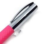 德國 Faber-Castell 輝柏 Ambition 成吉思汗 印度繩紋 繩紋飾 原子筆(桃紅色)