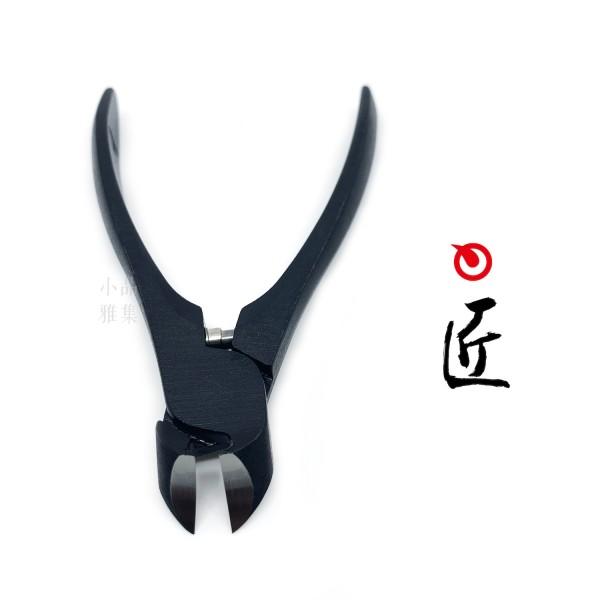 日本 手工SUWADA 指甲钳-黑色磨砂(大)