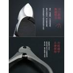 日本 手工SUWADA 經典不鏽鋼指甲鉗(小)皮革收納禮盒組