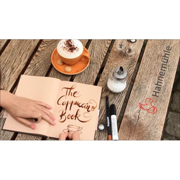 德國 Hahnemuehle The Cappuccino Book 卡布奇諾 速寫本(兩款尺寸可選)