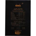 法國 RHODIA N°18 黑色上翻筆記本 210mmx297mm A4 空白內頁(180009C)