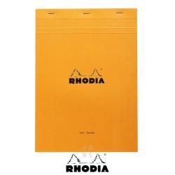法國 RHODIA N°18 橘色上翻筆記本 210mmx297mm A4 空白內頁(18000C)