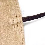 日本 Pilot 百樂 3支裝 附加拉鍊收納袋 真皮 筆袋(咖啡色)