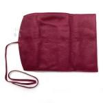 日本 PILOT 百樂 3支裝 附加拉鍊收納袋 真皮 筆袋(酒紅)