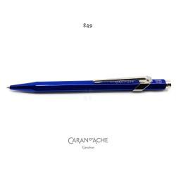 瑞士 卡達 Caran d'Ache Metal-X 系列 849 原子筆(深藍色)