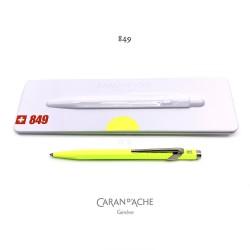 瑞士 卡達 Caran d'Ache Pop Line系列 849 原子筆(檸檬黃)