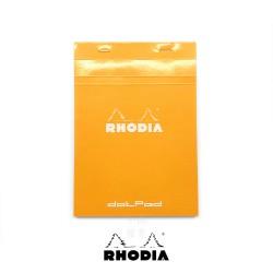 法國 RHODIA N°16 橘色上翻筆記本 148mmx210mm A5 點點內頁(16558C)