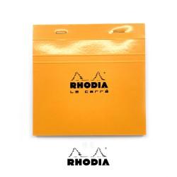 法國 RHODIA N°148 橘色上翻筆記本 148mmx148mm 方格內頁(148200C)