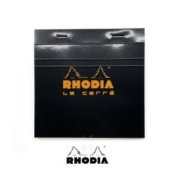 法國 RHODIA N°148 黑色上翻筆記本 148mmx148mm 方格內頁(148209C)