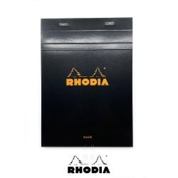 法國 RHODIA N°16 黑色上翻筆記本 148mmx210mm A5 空白內頁(160009C)