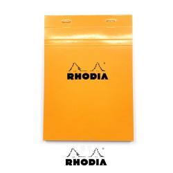 法國 RHODIA N°16 橘色上翻筆記本 148mmx210mm A5 方格內頁(16200C)
