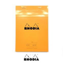 法國 RHODIA N°16 橘色上翻筆記本 148mmx210mm A5 可撕式會議記錄用內頁(16400C)