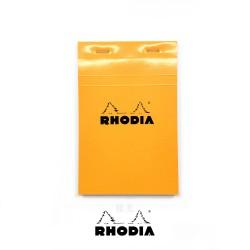 法國 RHODIA N°14 橘色上翻筆記本 110mmx170mm 方格內頁(14200C)